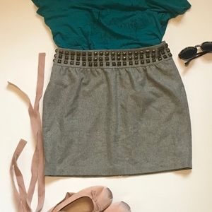 Urban Outfitters Silence + Noise Studded Skirt